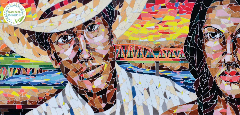 Mural artístico y cultural